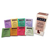 Assorted Tea Bags, Three Each Flavor, 24 Tea Bags/Box