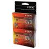 TDK Superior Grade DVC Camcorder Videotape Cassette, 60 Minutes, 2/Pack