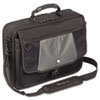 "Blacktop 17"" Deluxe Laptop Case, Polyester, 18-1/2 x 5-1/2 x 16-1/4, Black"