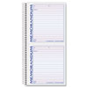 Memorandum Book, 5 x 5 1/2, Two-Part Carbonless, 100 Sets/Book