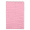 TOPS Prism Steno Books, Gregg, 6 x 9, Pink, 80 Sheets, 4 Pads/Pack