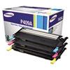 Samsung CLTP409A Toner, 1000 Page-Yield, Cyan, Magenta, Yellow, 3/Box