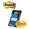 Marking Flags in Dispensers, Blue, 12 50-Flag Dispensers/Pack