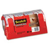 Scotch 3750 Commercial Grade Packaging Tape w/Dispenser, 1.88