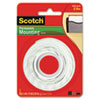 Scotch Foam Mounting Double-Sided Tape, 1/2