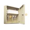 SteelMaster Uni-Tag Key Cabinet, 10-Key, Steel, Sand, 16 1/2 x 4 7/8 x 20 1/8