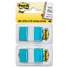 Post-it Flags Standard Tape Flags in Dispenser, Bright Blue, 100 Flags/Dispenser