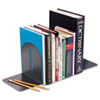 SteelMaster Fashion Bookends, 5 9/10 x 5 x 7, Granite, Pair