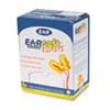 E-A-Rsoft Blasts Earplugs, Corded, Foam, Yellow Neon, 200 Pairs/Box
