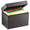 Index Card File Holds 400 4 x 6 cards, 6 3/4 x 4 1/5 x 5