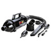Steel Vacuum/Blower w/Accessories, 3lb, Black