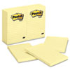 Original Notes, 4 x 6, Lined, Canary Yellow, 12 100-Sheet Pads/Pack