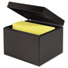 Index Card File Holds 600 6 x 9 cards, 7 1/4 x 9 7/8 x 8 3/4