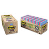 Post-it Notes Super Sticky Super Sticky Pads Cabinet Pack, 3x3, Five Tropic Breeze Colors, 24 70-Sheet Pads
