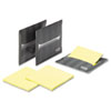 Laptop Note Dispenser, 3 x 3, Gray, 3 per Pack