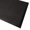 WaterGuard Wiper Scraper Indoor Mat, 36 x 60, Charcoal