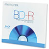 Memorex Blu-Ray BD-R Recordable Disc, 25GB