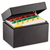 Index Card File Holds 300 3 x 5 cards, 5 3/4 x 3 5/8 x 4