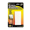 Scratch Guard Self-Adhesive Clear Surface Protectors, 3/4 Dia. Circles, 20/Pack