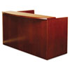 Mira Series Wood Veneer Reception Desk Shell, 72w x 36d x 43½h, Medium Cherry