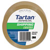 Bulk-Packed Commercial Grade Tape, 2&quot; x 55 yards, 3&quot; Core, Tan