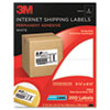 Permanent Adhesive White Mailing Label f/Laser Printer, 5-1/2 x 8-1/2, 200/Pack