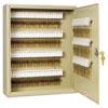 SteelMaster Uni-Tag Key Cabinet, 200-Key, Steel, Sand, 16 1/2 x 4 7/8 x 20 1/8