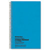 3-Subject Wirebound Notebook, College Rule, 6 x 9-1/2, WE, 150 Sheets/Pad