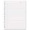Blueline MiracleBind Notebook Ruled Paper Refill, 11 x 9-1/16, White, 50 Sheets/Pack