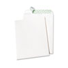 Quality Park Tech-No-Tear Catalog Envelope, Poly Lining, Side Seam, 10 x 13, White, 100/Box