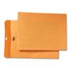 Quality Park Park Ridge Kraft Clasp Envelope, 9 x 12, Brown Kraft, 100/Box
