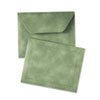 Document Carrier, Letter, Two Inch Expansion, Green, 1/ea