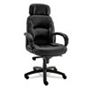 Nico High-Back Swivel/Tilt Chair, Black