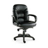Alera Nico Series Mid-Back Swivel/Tilt Chair, Black