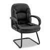 Nico Guest Chair, Black Leather