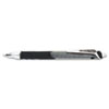 Hyper-G Roller Ball Retractable Gel Pen, Black Ink, Fine, Dozen
