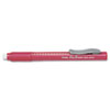 Clic Eraser Pencil-Style Grip Eraser, Red