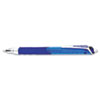 Hyper-G Roller Ball Retractable Gel Pen, Blue Ink, Fine, Dozen