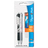 Paper Mate Design Mechanical Pencil Starter Set, 0.7 mm, Stainless Steel/Black/Pink Floral