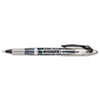 Liquid Flair Porous Point Stick Pen, Black Ink, Extra Fine, Dozen