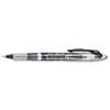 Paper Mate Liquid Flair Porous Point Stick Pen, Black Ink, Extra Fine, Dozen