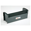 AbilityOne 7520012074190 Plastic Stamp Tray, 7 1/2 x 2 1/2 x 2 7/8, Black