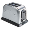 Coffee Pro 2-Slice Toaster with Adjustable Slot Width, Stainless Steel