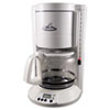 Coffee Pro Home/Office 12-Cup Coffee Maker, White