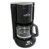 Coffee Pro Home/Office 12-Cup Coffee Maker, Black