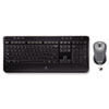 MK520 Wireless Desktop Set, Keyboard/Mouse, USB, Black