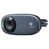 HD C310 Portable Webcam, 5MP, Black