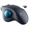 Logitech M570 Wireless Trackball, Four Buttons, Scroll, Black/Blue