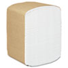 KIMBERLY-CLARK PROFESSIONAL* SCOTT Full Fold Dispenser Napkins, 1-Ply, 13 x 12, White, 375/Pack
