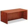 Alera RN217236CM Verona Veneer Straight Front Desk Shell, 71w x 35-1/2d x 29-1/2h, Cherry ALERN217236CM ALE RN217236CM
